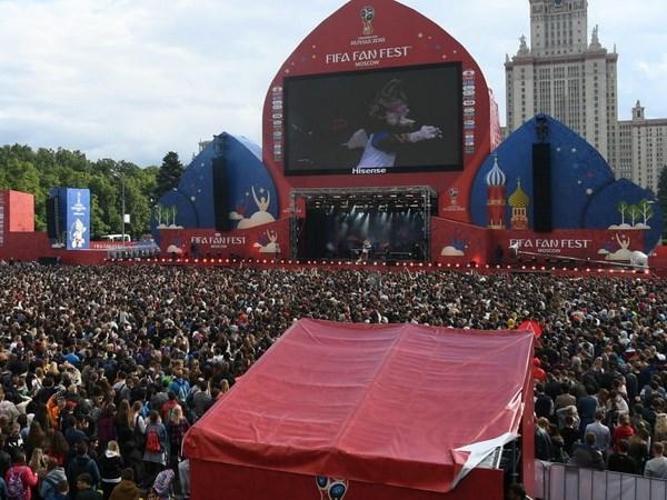 FIFA Fan Fest thu hút hơn 1 triệu lượt người chỉ trong vòng bốn ngày