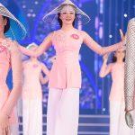 Lâm Bích Tuyền hóa nữ thần trong BST mùa lễ hội của Brian Võ