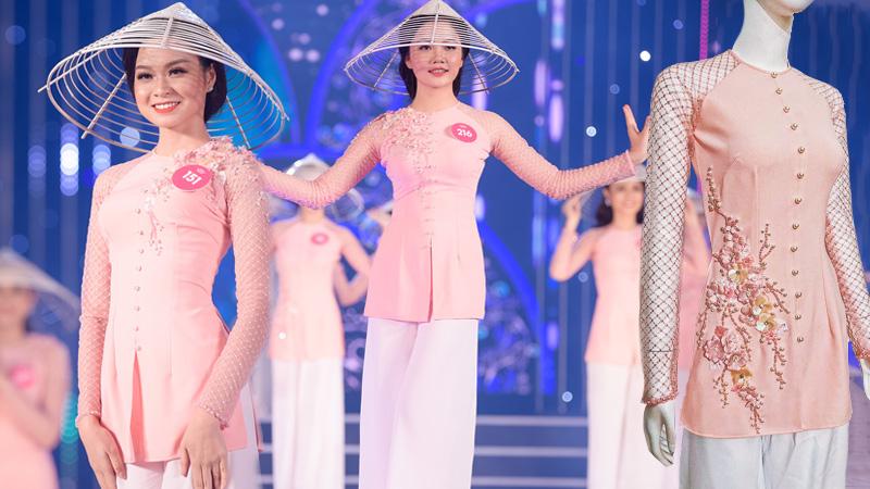 Cảm hứng ngọt ngào phía sau chiếc áo bà ba của dàn thí sinh Hoa hậu Việt Nam 2018