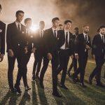Dàn mẫu nam hùng hậu diện suit đá bóng đầy nam tính