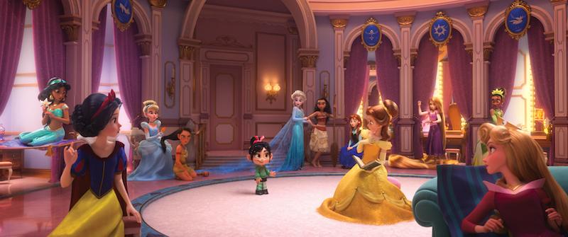 """Disney chơi lớn khi """"mời"""" dàn công chúa siêu hot xuất hiện trong """" Wreck-It-Ralph 2″"""
