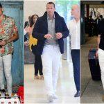 """3 cách mặc quần jeans trắng """"chuẩn"""" nhất dành cho quý ông"""