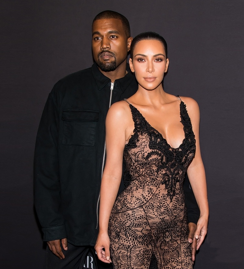 NEW YORK, NY - SEPTEMBER 09: Recording artist, songwriter, record producer, fashion designer, Kanye West and Kim Kardashian West attend Harper's BAZAAR Celebrates 'ICONS By Carine Roitfeld' at The Plaza Hotel on September 9, 2016 in New York City. (Photo by Gilbert Carrasquillo/Getty Images)