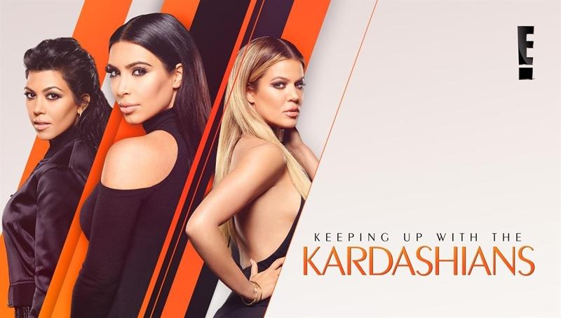"""Poster chương trình """"Keeping Up With The Kardashians"""""""