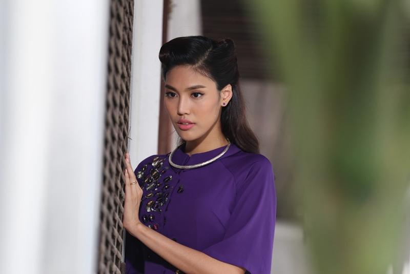 """Lan Khuê cũng từng tham gia đóng vai mợ Tư Thì trong phim """"Mẹ Chồng""""."""