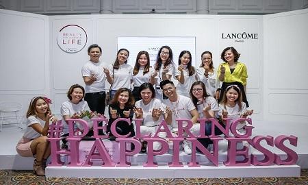 Hành trình lan toả hạnh phúc từ Lancôme Việt Nam