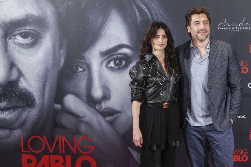 """Sự hội tụ của cặp vợ chồng - diễn viên chính Bardem và Cruz hứa hẹn sẽ trở thành tâm điểm tạo nên sự hấp dẫn của """"Loving Pablo""""."""