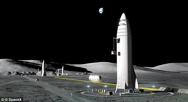 Tập đoàn SpaceX hoãn kế hoạch đưa du khách lên mặt trăng