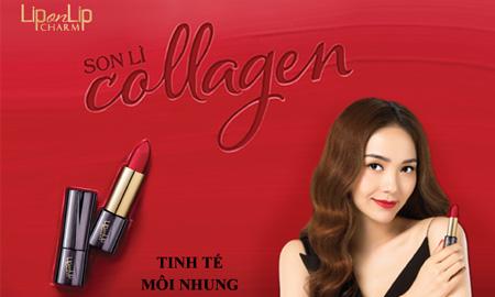 6 sắc son thanh lịch từ dòng son lì Collagen dành riêng cho các quý cô