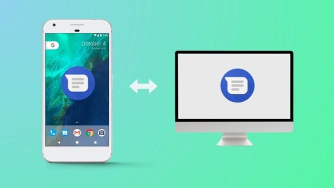 Người dùng Android Messages đã có thể gửi, nhận tin nhắn từ máy tính
