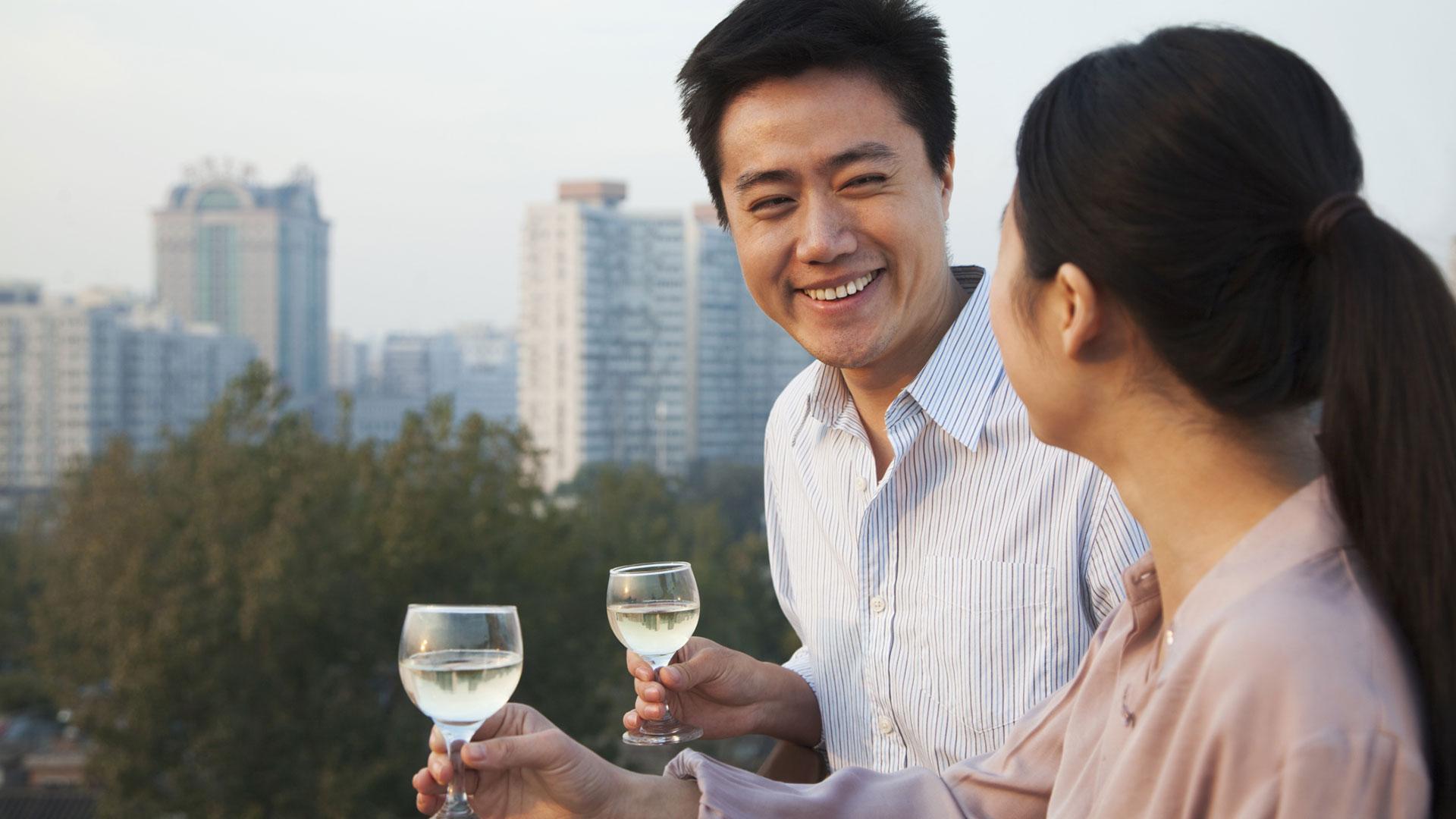 asian-couple-talking