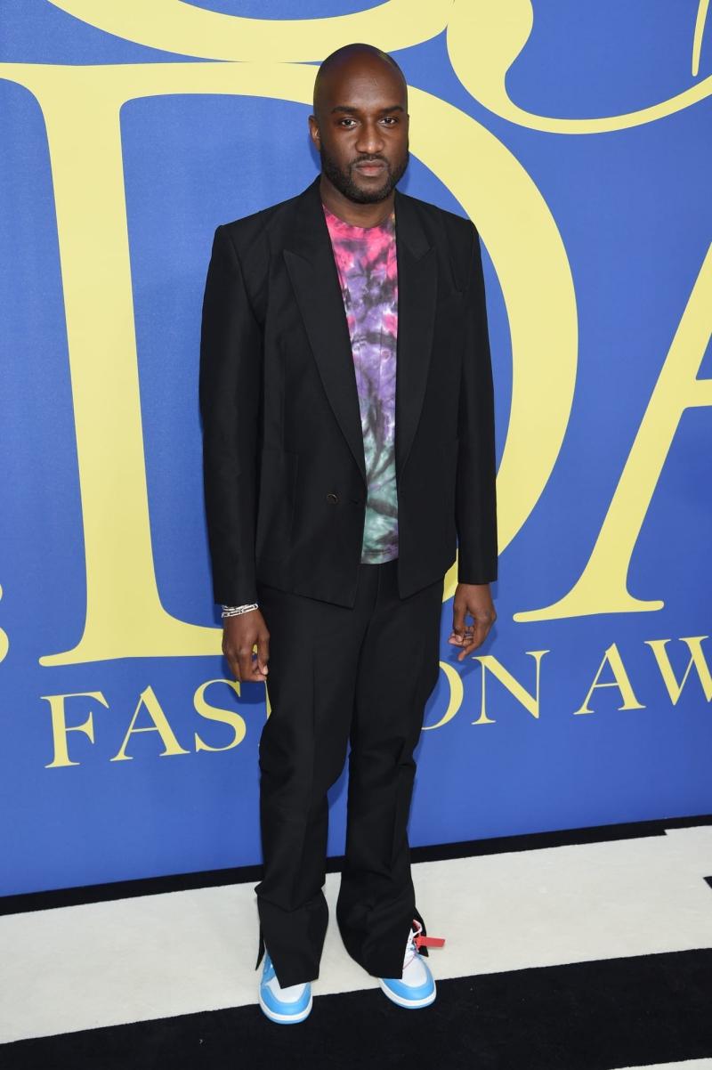 Tân Giám đốc Nghệ thuật dòng sản phẩm nam của Louis Vuitton Virgil Abloh cũng có mặt tại lễ trao giải CFDA 2018.