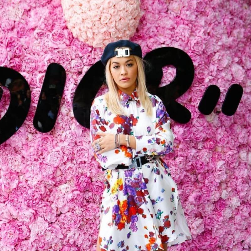 Nữ ca sĩ Rita Ora cũng có mặt tại show diễn lần này.