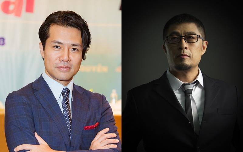 Đạo diễn người Nhật Ken Ochiai và Nhà sản xuất Charlie Nguyễn.