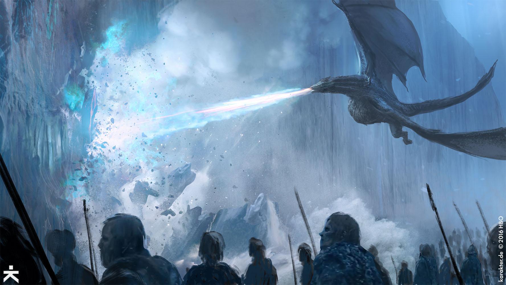 """""""Game of Thrones 7"""" kết thúc trong cảnh Bức Tường phía Bắc chính thức sụp đổ, mở ra cuộc chiến vĩ đại nhất giữa loài người và bầy quỷ thây ma."""