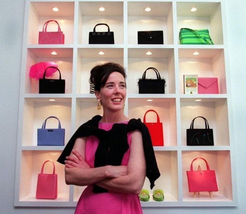NTK Kate Spade tại cửa hàng của mình năm 1999