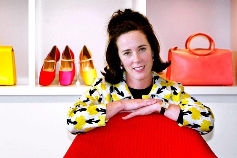 NTK Kate Spade và các thiết kế của mình, ảnh chụp năm 2006.