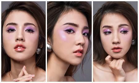Trang điểm tông tím: Vẻ đẹp khó cưỡng từ sắc màu mơ mộng