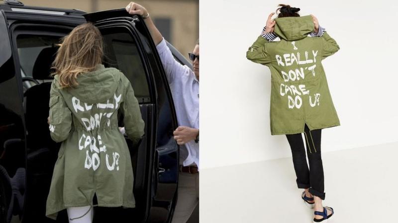 """Mặc áo khoác in thông điệp nhẫn tâm, Đệ nhất Phu nhân Melania Trump """"hứng"""" trọn cơn thịnh nộ của cộng đồng mạng"""