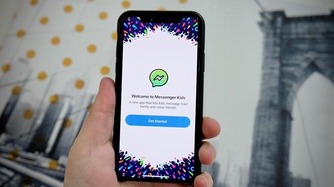 Facebook phát hành ứng dụng chat Messenger cho trẻ em