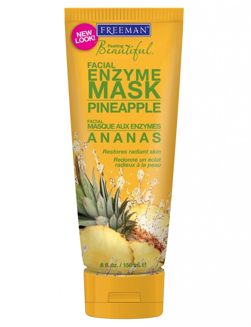 Mặt nạ Freeman Feeling Beautiful Pineapple Enzyme Facial Mask ($6.45, khoảng 147.000VND)