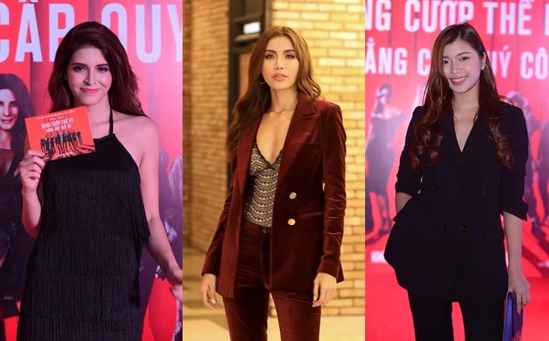 """Dàn sao nữ Việt đầy khí chất trong buổi ra mắt phim """"Ocean's 8"""""""