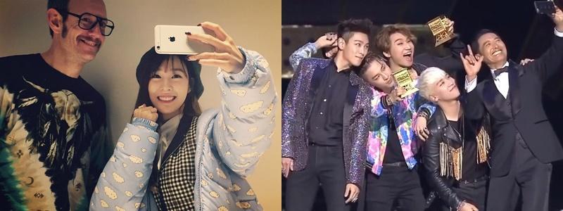 Tiffany của SNSD và nhóm nhạc Big Bang.