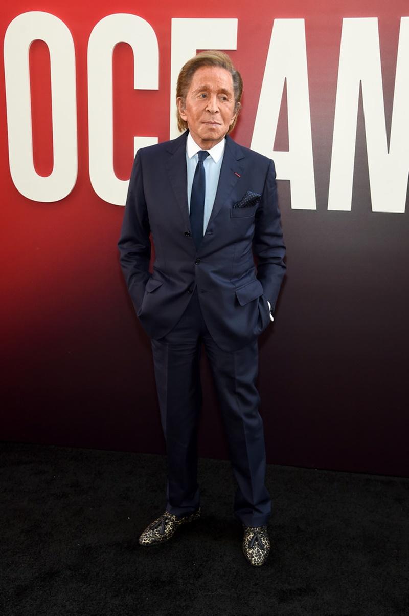 """NTK Valentino Garavani cũng tham dự sự kiện công chiếu phim """"Ocean's 8""""."""