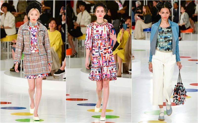Sau đó 6 năm, tại show diễn ra mắt BST resort 2016 của mình tại Hàn Quốc, thương hiệu này lại một lần nữa thể hiện sự ưu ái đặc biệt cho các thiết kế mang hơi thở phương Đông, với phong cách pop-art và kiểu dáng trẻ trung, hiện đại của giới trẻ xứ kim chi.