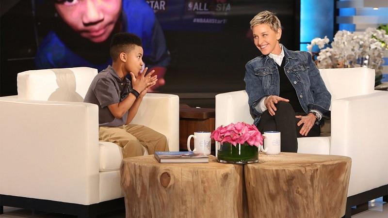 """Smith trở thành """"ngôi sao tuổi teen"""" được góp mặt thường xuyên trên show The Ellen và là một trong những người được Ellen yêu mến."""