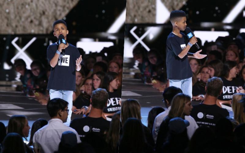 """Cậu bé trở thành """"nhà diễn giả"""" được nhiều người yêu mến khi không ngừng chia sẻ câu chuyện của bản thân để giúp mọi người xung quanh có thêm động lực."""