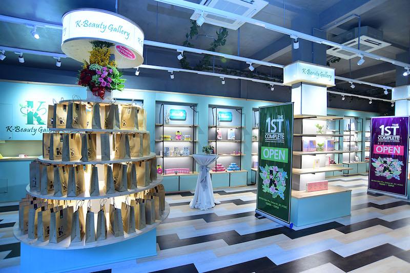 Chính thức ra mắt cửa hàng mỹ phẩm K-Beauty Gallery tại TP.HCM