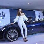 Hồ Ngọc Hà lái mẫu xe thể thao mui trần mới nhất Maserati GranCabrio 2018