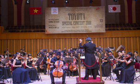 Toyota Việt Nam tổ chức chương trình Hòa nhạc đặc biệt 2018