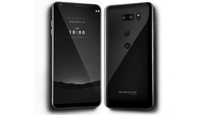 LG ra mẫu điện thoại siêu cao cấp Signature V35, giá gần 2.000 USD