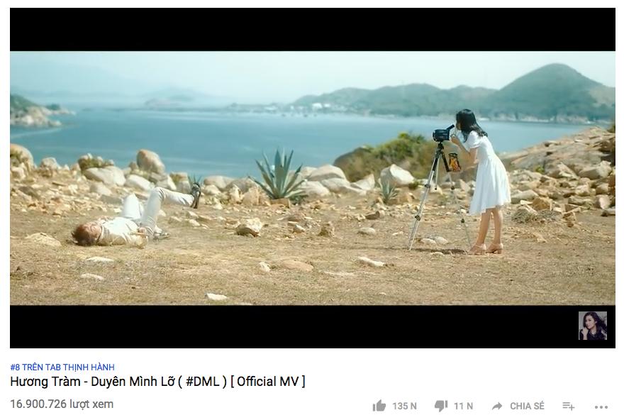 MV chuẩn bị cán mốc 17 triệu lượt xem.