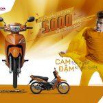Honda Việt Nam ra mắt Wave Alpha màu cam và khuyến mãi đặc biệt