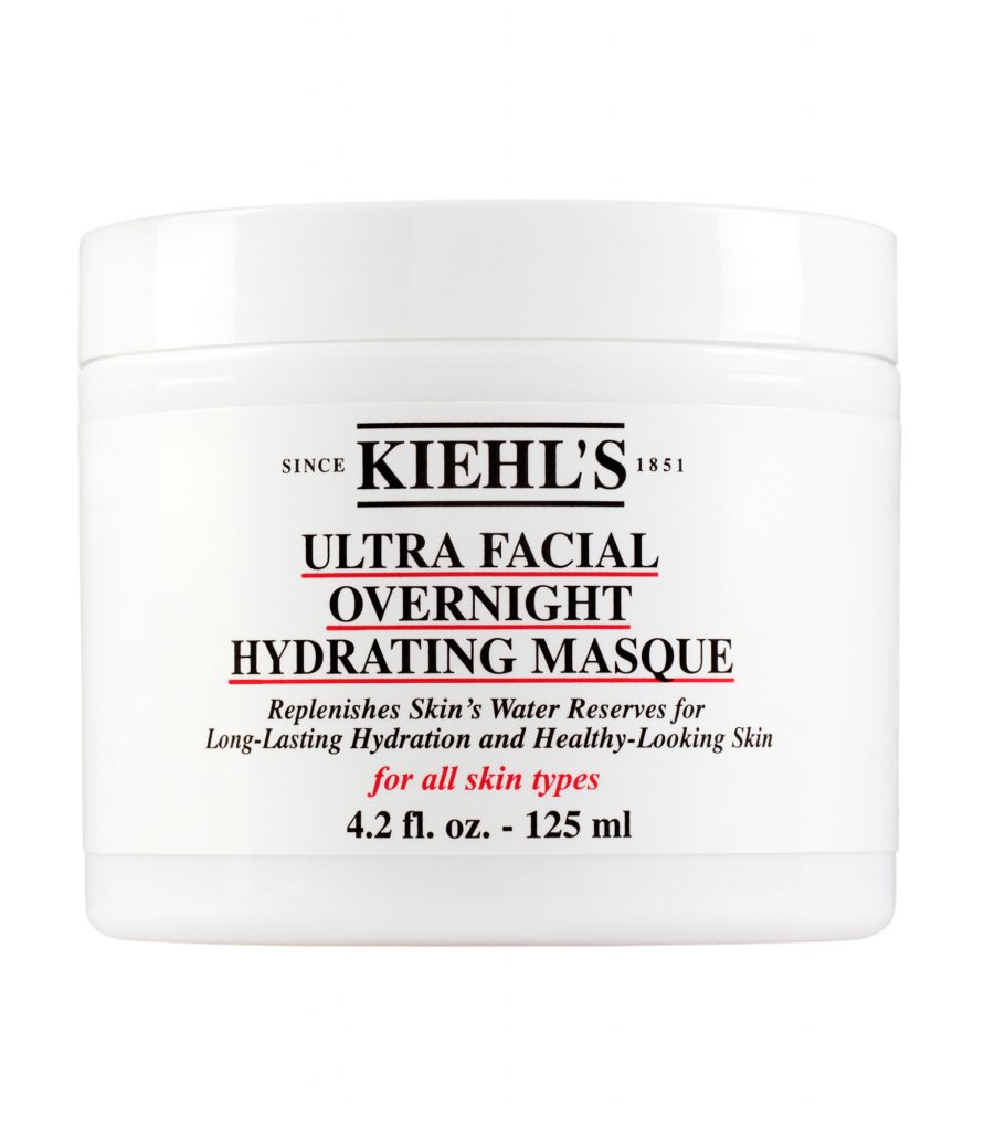 Kihel's Ultra Facial Overnight Hydrating Masque: Mặt nạ ngủ chứa squalane củng cố màng lipid cho da, glycerin cải thiện độ đàn hồi căng mọng và chiết xuất cỏ Ophiopogon Japonicus giúp giữ nước cho da. Giá; 1.000.000VND