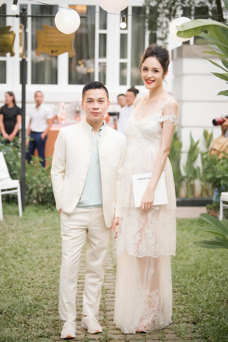 Á hậu Hoàng Anh và NTK Adrian Anh Tuấn