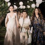 NTK Adrian Anh Tuấn chinh phục khán giả thủ đô với vải hoa xuyên thấu, ren trắng tinh khôi