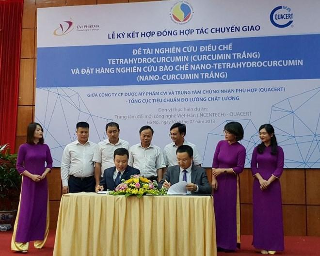 Việt Nam đẩy mạnh hoạt động nghiên cứu sản xuất Curcumin trắng