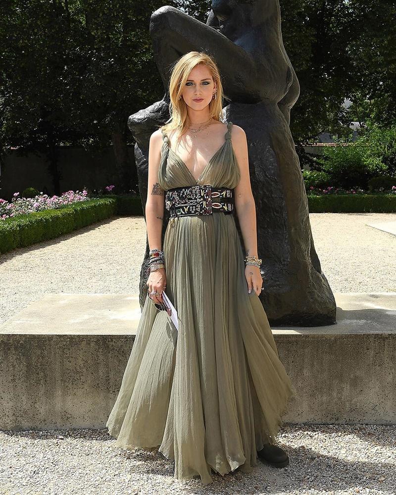 """Fashionista đình đám, chủ nhân trang blog """"The Blonde Salad"""", Chiara Ferragni"""