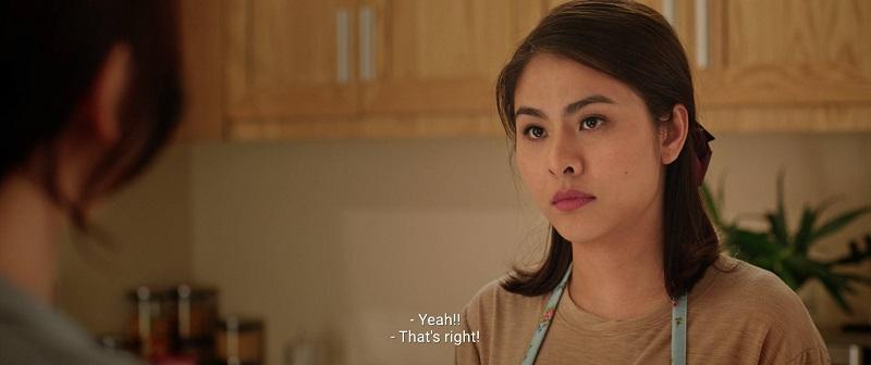 Hà (Vân Trang) - cô bạn thân của Mai, một hình mẫu người vợ mà Mai luôn muốn kiếm tìm.