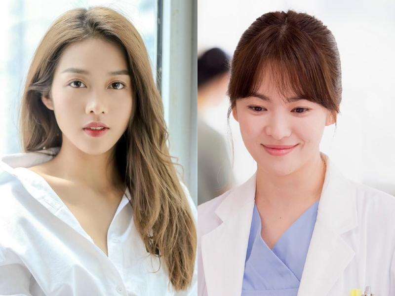 Tạo hình và nhất là biểu cảm của Khả Ngân dường như chênh lệch khá nhiều so với Song Hye Kyo. Khuôn mặt nữ diễn viên sinh năm 1997 của Việt Nam còn thiếu sự dịu dàng, tinh tế, và cả biểu cảm khi tha thiết, khi quyết liệt ở nụ cười, ánh mắt vốn là bản năng của Song Hye Kyo (Song Hye Kyo sinh năm 1981 hơn Khả Ngân 16 tuổi).