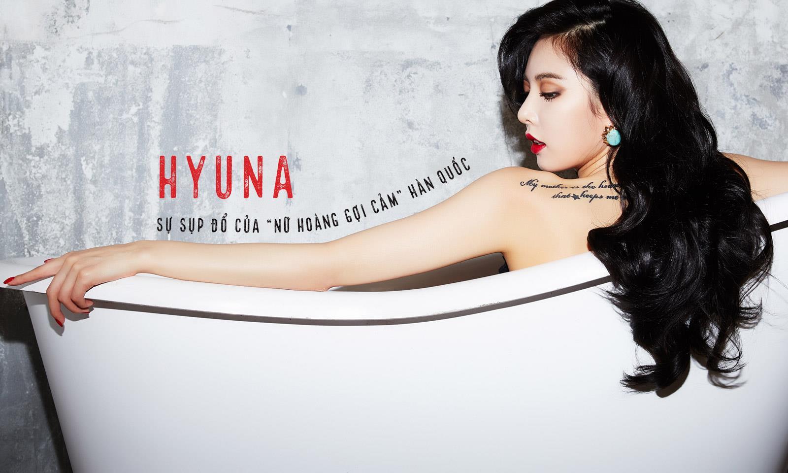 """Sự sụp đổ của """"nữ hoàng gợi cảm"""" Hàn Quốc HyunA"""