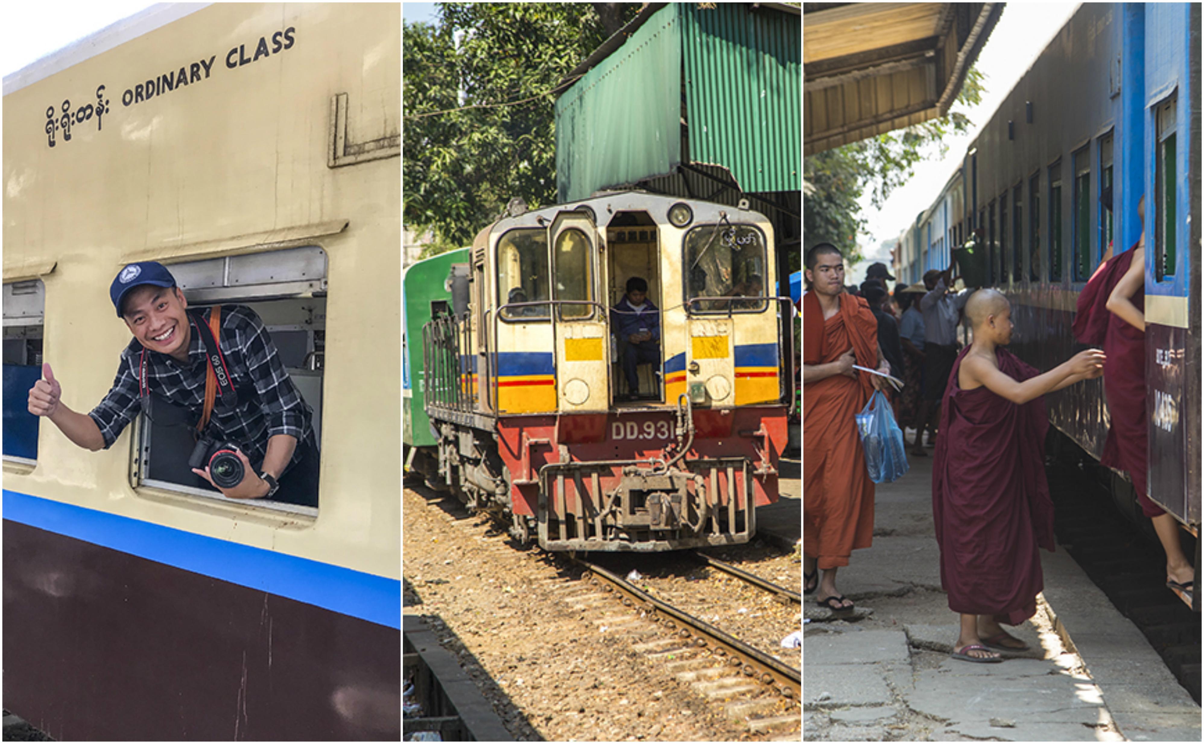 Trở về tuổi thơ với chuyến tàu vòng quanh Yangon chỉ 3.500VND