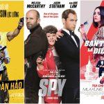 """Điểm danh 5 bộ phim siêu hài khi điệp viên """"đánh rơi"""" độ ngầu trên màn ảnh"""