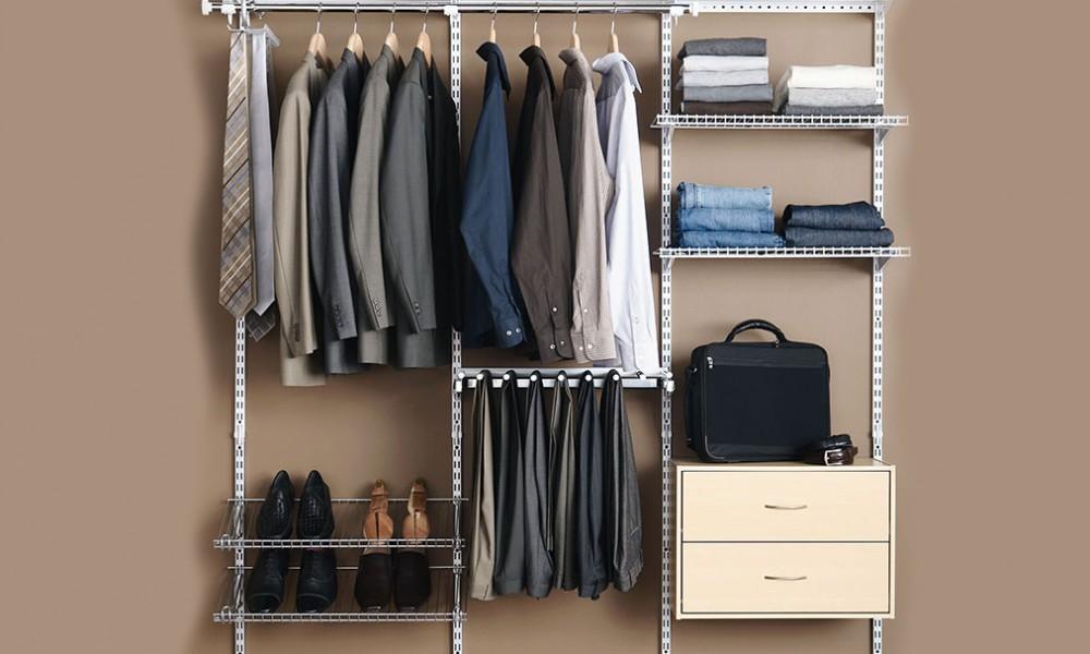 """Cách giải quyết vấn đề """"nhiều đồ quá mà chẳng biết mặc gì"""" của đàn ông"""