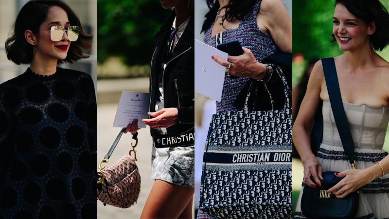 Fashionista tấp nập xúng xính trong những thiết kế đẳng cấp bên lề show diễn Dior couture