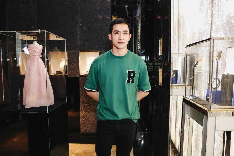 Người mẫu Võ Cảnh.
